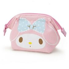 Sanrio Original Japan My Melody Canvas Mini Pouch Wire Coin Wallet Gkmm075