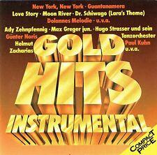 (CD) Gold Hits Instrumental - Hugo Strasser, Max Greger, Helmut Zacharias,u.a.