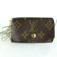 LOUIS VUITTON MULTICLES 4 Key Case Monogram M62631 Brown