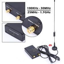 100KHz-1.7GHz Full Band UV HF RTL-SDR USB Tuner Receiver/ R820T+8232 AM FM New