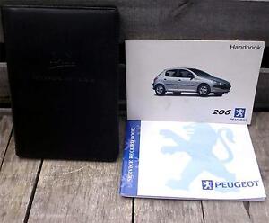 Peugeot 206 Owner's Instruction Manual (1999 - 2008) Handbook