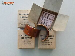 KIT CONNECTING ROD BEARING STD MILITARY JEEP FORD GPW WILLYS MB ORIGINAL NOS