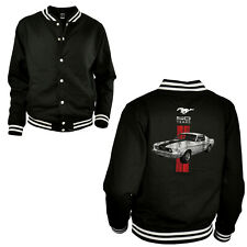 Ford Mustang Jacke Licensed american classic Muscle Car Sweatjacke *0030 bl