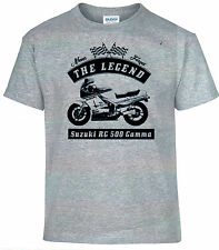T-Shirt, Suzuki Rg 500 Gamma, Bike, Motorcycle, Oldtimer, Youngtimer