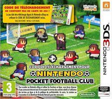 Jeu neuf 3DS Nintendo Pocket Football Club