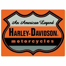 """Harley Davidson American Legend Motorcycles Sign 17"""" x 12 1/2"""" Tin NEW"""