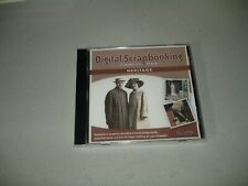 Digital Scrapbooking - Scraps of Style - Heritage (Cd, 2006) Brand New