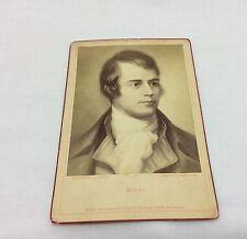 ANTIQUE BRUCKMANN'S PORTRAIT COLLECTION CARD No.8 BURNS