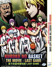 ANIME DVD KUROKO NO BASKET The Movie: The Last Region All Eng Subs + FREE ANIME