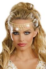 Brand New Greek Queen Goddess Glittering Rhinestone Headpiece Costume Accessory