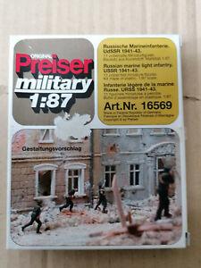 PREISER 1/87 - Marineros soviéticos