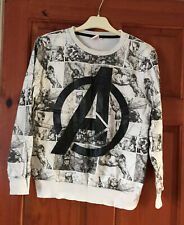 Boys Avengers Sweatshirt Age 12/13 Years