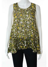 For Love And Lemons Multicolored Floral Sheer Tank Top Size XS
