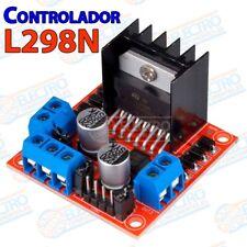 Controlador L298N Doble puente H Driver Stepper Motor DC paso a paso PAP Arduino
