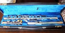 Kohlert Hammig German flute Querflöte Silber silver flute handmade flauta flauto