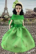 FITS Barbie Vintage, Silkstone & Reproduction Doll HANDMADE Dress Modern Art