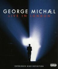 """GEORGE MICHAEL """"LIVE IN LONDON"""" BLU RAY NEW+"""
