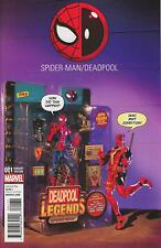 Spider-Man / Deadpool #1.Action Figure Photo Variant Cover New. NM. Marvel Comic