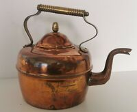 Vintage Copper & brass kettle