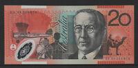 Fraser / Evans - 1996 : Last prefix DA96 Twenty Dollar Polymer Banknote, Unc.