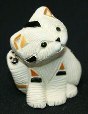 "Retired ARTESANIA RINCONADA Calico Kitten Scratching Ear #191B, 2 1/4"" Tall EPOC"