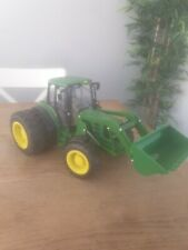 Britains farm Etrl Tractor Double Wheels  John Deere 6830 lights and sounds