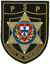 PORTUGAL NATIONAL POLICE INTERVENTION RIOT SEGURANÇA PÚBLICA EB0675 PATCH EMBLEM