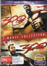 300 & 300 Rise Of An Empire 2 DVD Set & Digital - Region 4 DVD - New & Sealed