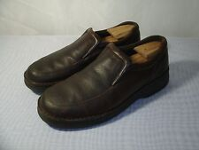 THOM MCAN BROWN LEATHER LOAFERS CASUAL SHOES / SIZE US 13 / EUR 47 MEN'S