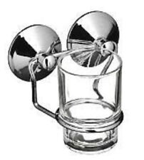 Premier glass tumbler with holder suction fixing