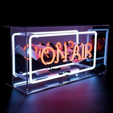 Acrylic Box Neon Light On Air Lamp Decor Pub Bar Art Light Up