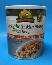 Augason Farms Beef Spaghetti Marinara ~ Emergency Food #10 Can ~ The Wise Prep