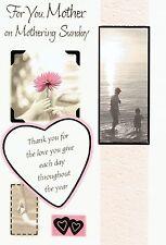 Pour vous, mère sur Mothering sunday-qualité fête des mères carte fête mères