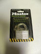 NOS NIB Sealed Vintage Master 500-D Lock USA Made Sheds & Gates Padlock (A3)