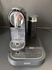 DeLonghi Nespresso Citiz & Milk EN266 Kaffee Kapselmaschine mit Milchaufschäumer