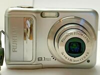Fujifilm FinePix A850 8.1MP Digital Camera w/Case Used - TESTED Works
