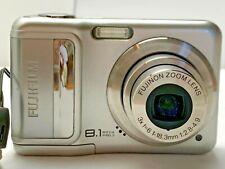 Fujifilm FinePix A850 8.1MP Digital Camera w/Case Used - TESTED Works