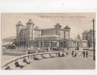 Playa Ramirez Hotel Parque y Casino Montevideo Uruguay Vintage Postcard 346b