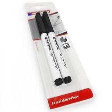 Edding Handwriter Écriture Manuscrite Stylo - Noir Encre – 0.6mm - Blister