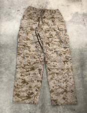 USMC Marine Corps Cami Bottoms Marpat Desert FIELD Pants Size SMALL SHORT