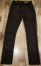 7 For All Mankind Men's Tapered Straight Leg Jean Indie Black AT121819AP 28