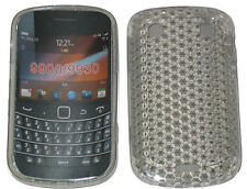 TPU Pattern Gel Case Protector Cover Clear For Blackberry Bold Touch 9900 9930