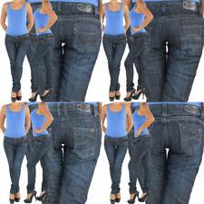 Markenlose Slim Damen-Jeans