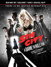 Frank Millers Sin City: A Dame to Kill For 3D Blu-ray Only 2014 Jessica Alba