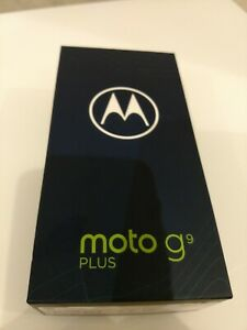"XT2087-2 Motorola Moto G9 Plus 6.8"" 4GB 128GB LTE Unlocked Android 10 Navy Blue"