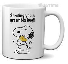 Snoopy - Sending you a great big hug - Mug Cup Funny Gifts Cute - Ceramic 330ml