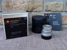 "Leica 11823 - Elmar-M 2.8/50mm E39 silbern verchromt  ""aus Sammlung"" - TOP!"