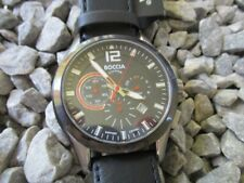 BOCCIA Titanium Chronograph Quartz 3771-01 42 mm NEU