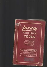LUFKIN PRECISION TOOLS CATALOG NO.7
