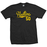 Fleetline 50 Script Tail Shirt - 1950 Lowrider Bomb Car - All Sizes & Colors